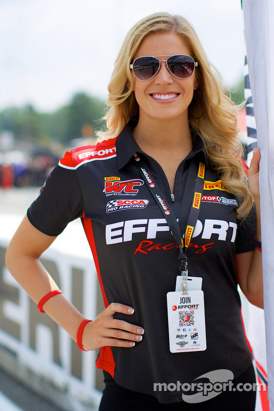 EFFORT Racing Promotional Girl