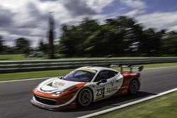 #23 FF Corse Ferrari 458 Challenge: Adam Carroll, Gautam Singhania