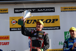 Race winner Aron Smith