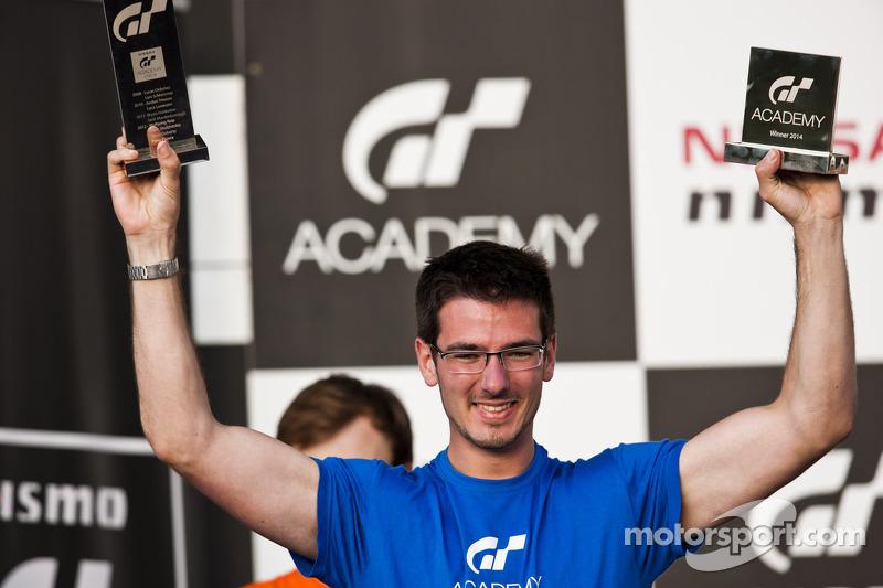 2014 GT Academy winner Gaëtan Paletou