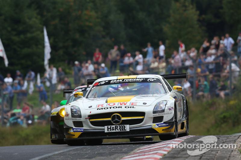 #6 Rowe Racing 梅赛德斯 SLS AMG GT3: 迈克尔·策厄, 扬·赛费特