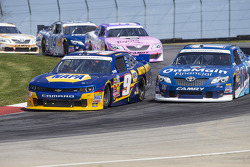 Chase Elliott and Elliott Sadler