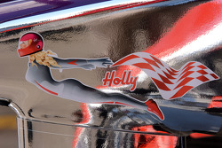 Virgin Racing detail