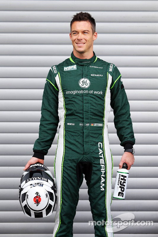 Andre Lotterer, Caterham F1 Team.