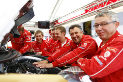 Citroën team members