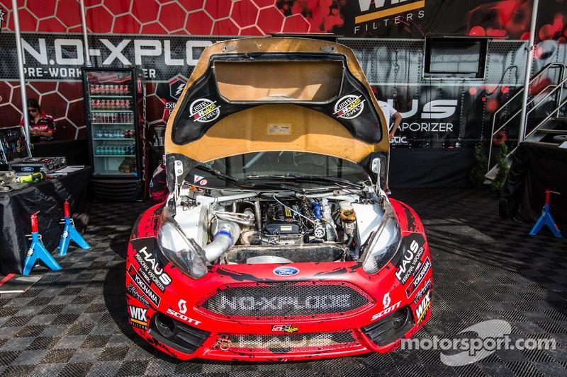 #07 SH Racing Rallycross 福特嘉年华 ST