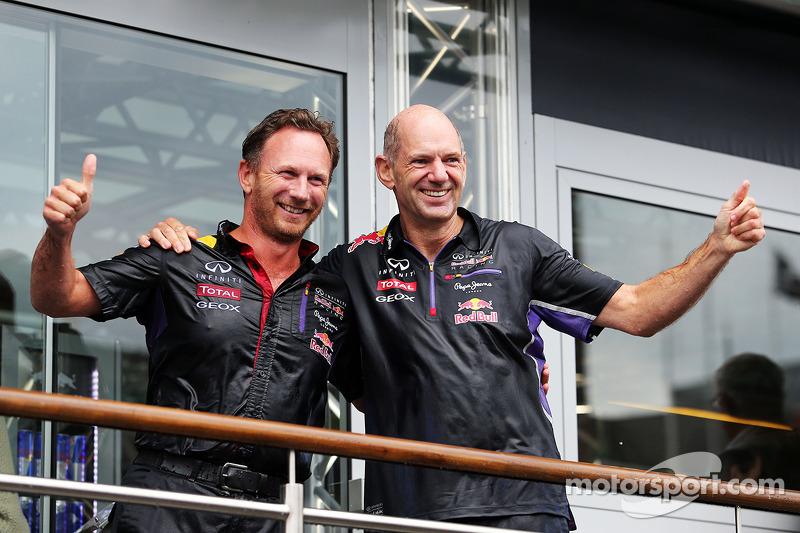 Christian Horner, Red Bull Racing Takım Patronu ve Adrian Newey, Red Bull Racing Baş Teknik Sorumlus