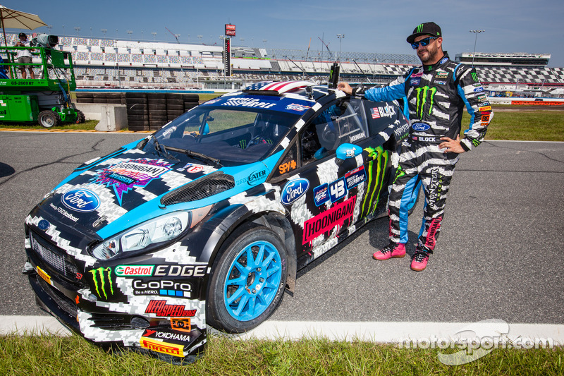 #43 Hoonigan Racing Division 福特嘉年华 ST: 肯·布洛克