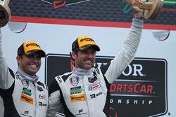 #27 Dempsey Racing Porsche 911 GT America: Patrick Dempsey & Andrew Davis