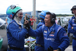 Falken team celebrates their 2nd place finish
