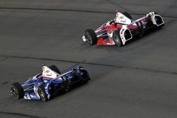 Helio Castroneves, Penske Racing Chevrolet e Juan Pablo Montoya, Penske Racing Chevrolet