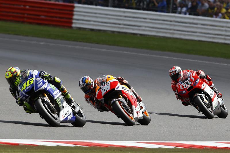 Valentino Rossi e Dani Pedrosa