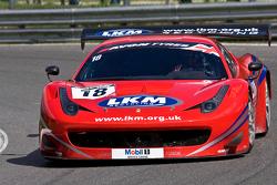 #18 FF Corse Ferrari 458 İtalya GT3: Gary Eastwood, Adam Carroll