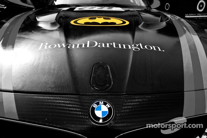 #88 Triple 8 BMW Z4 GT3: Ryan Ratcliffe, Lee Mowle