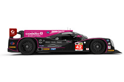 Густаво Якаман и Алекс Брандл. Ligier JS P2-HPD команды Oak Racing, презентация.