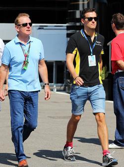 乔纳森·帕尔默和儿子乔利恩·帕尔默,DAMS GP2车手