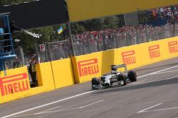 Lewis Hamilton, Mercedes AMG F1 takes the win