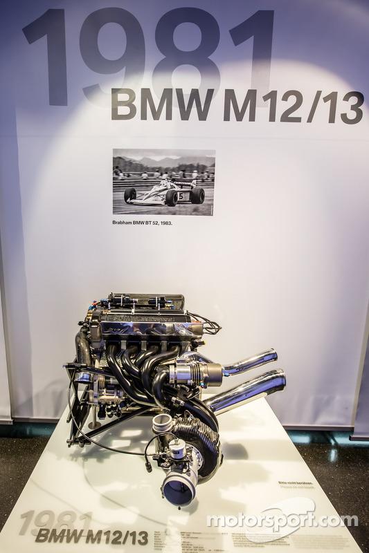 1981 BMW M12/13 Formula One: motor