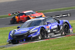 #100 Kunimitsu Honda HSV-010 GT: Takuya Izawa, Takashi Kogure