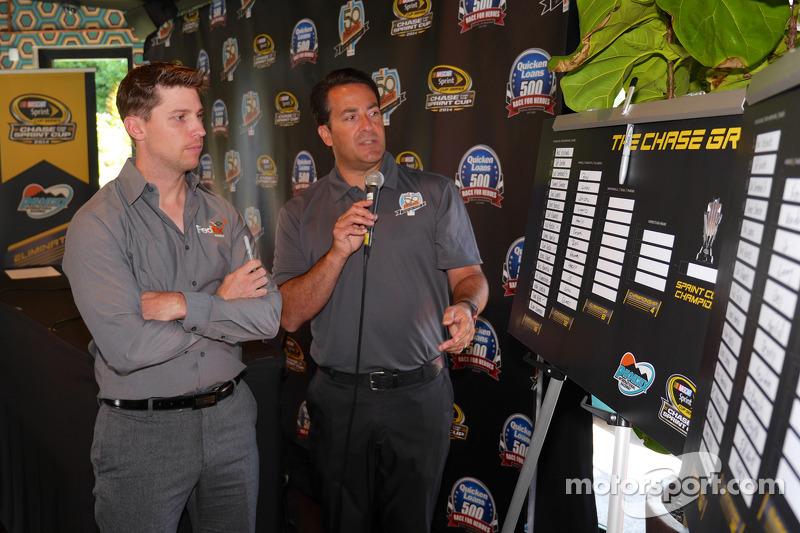 Denny Hamlin, Joe Gibbs Racing Toyota Phoenix ziyaretinde