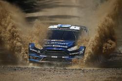 米克·海沃宁和Jarmo Lehtinen, M-Sport福特嘉年华 WRC