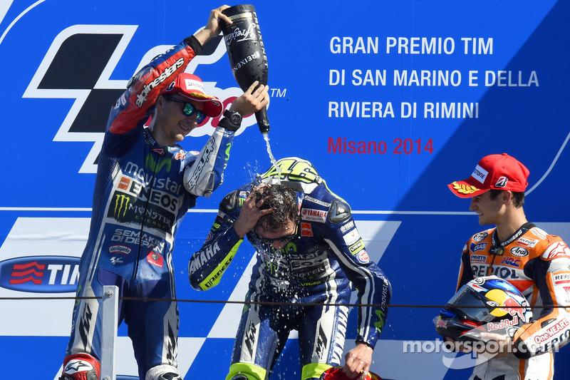 GP de San Marino 2014 - Victoria de Rossi por delante de Lorenzo
