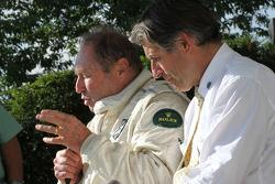 Jochen Mass e Alain de Cadenet