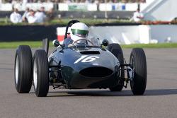 Charles McCabe im BRM P57 von 1961