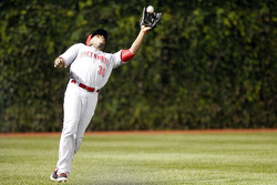 库尔特·布施拍摄的美国职棒辛辛那提红人芝加哥小熊队图片