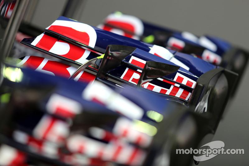 Scuderia Toro Rosso ale frontali