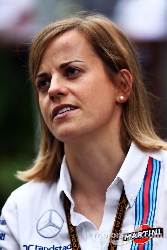 Susie Wolff, Williams piloto de desenvolvimento Dr. Vijay Malyaiver