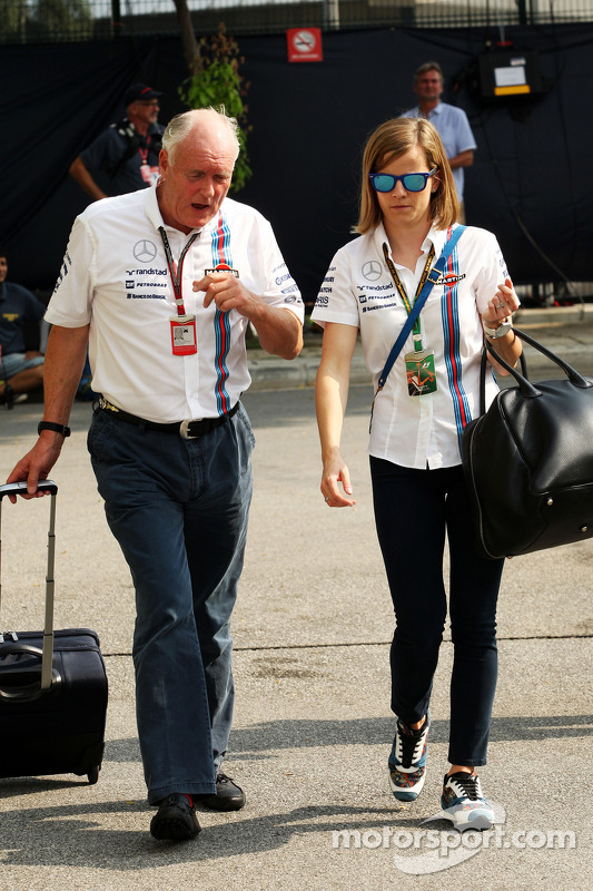 Edward Charlton, Williams com Susie Wolff, Williams Development Dr. Vijay Malyaiver