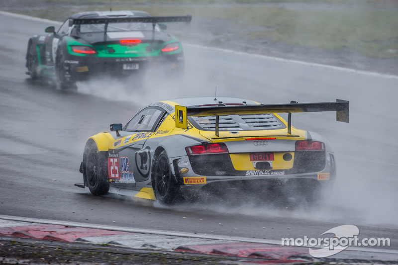 #25 Sainteloc Racing 奥迪 R8 LMS Ultra: Claude-Yves Gosselin, Jean-Claude Lagniez, Marc Rostan