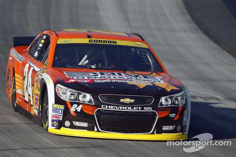 Jeff Gordon in Orange