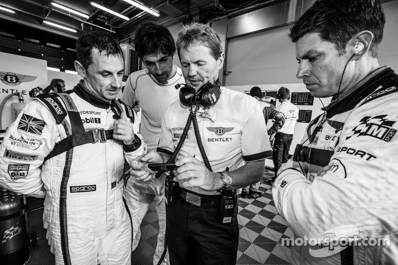 Steven Kane, Antoine Leclerc, Malcolm Wilson e Guy Smith