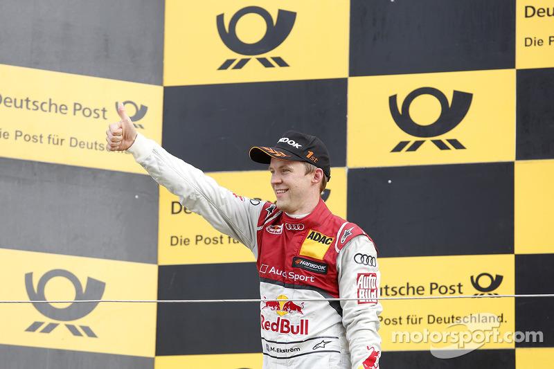 Vincitore Mattias Ekström, Audi Sport Team Abt Sportsline, Audi A5 DTM