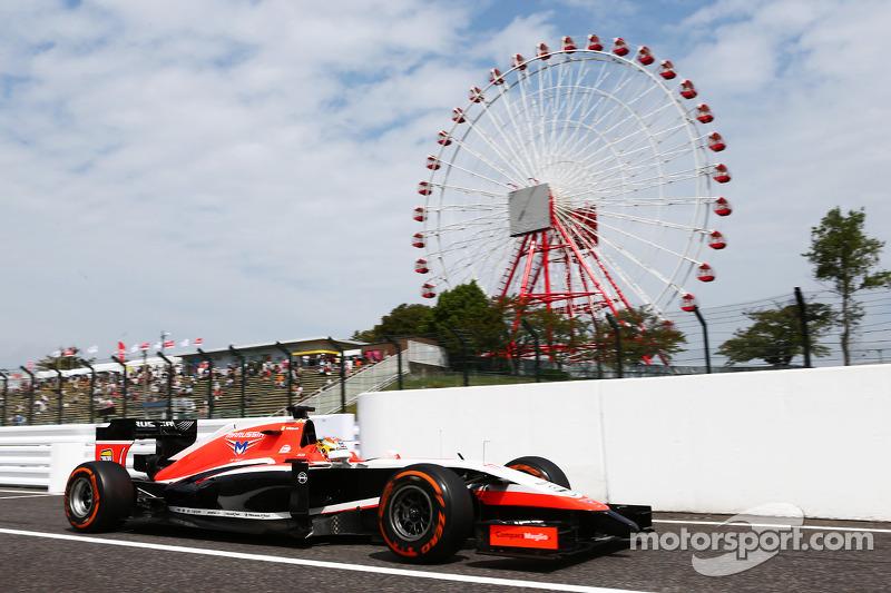 П'ятниця: Б'янкі починає вихідні на своєму боліді Marussia MR03