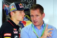 Max Verstappen, Scuderia Toro Rosso  piloto de prueba con su padre Jos Verstappen