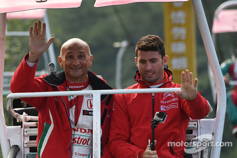 Gabriele Tarquini, Honda Civic WTCC, Castrol Honda WTCC Takımı, Jose Maria Lopez, Citroen C-Elysee W