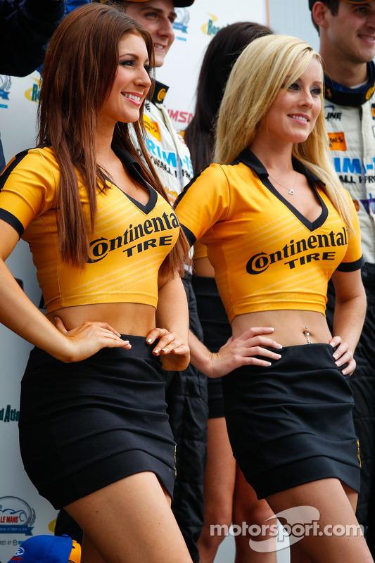 Continental lastik kızları