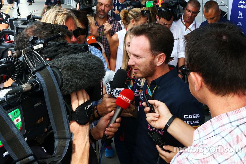 Christian Horner, Red Bull Racing Takım Patronu ve medya