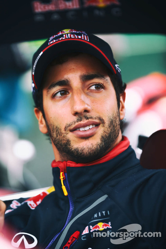 Daniel Ricciardo, Red Bull Racing no desfile