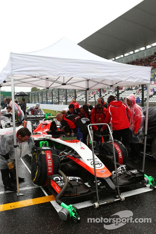 Max Chilton, Marussia F1 Team MR03, no grid