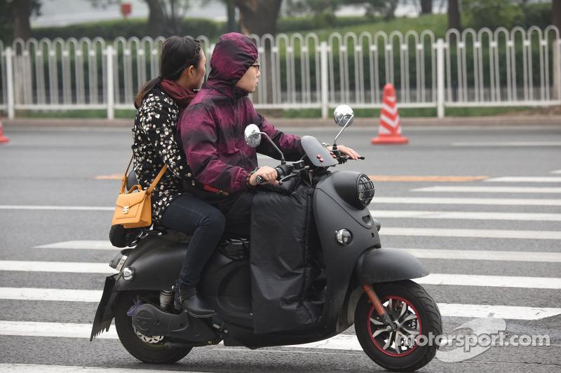 Atmosfera em Pequim