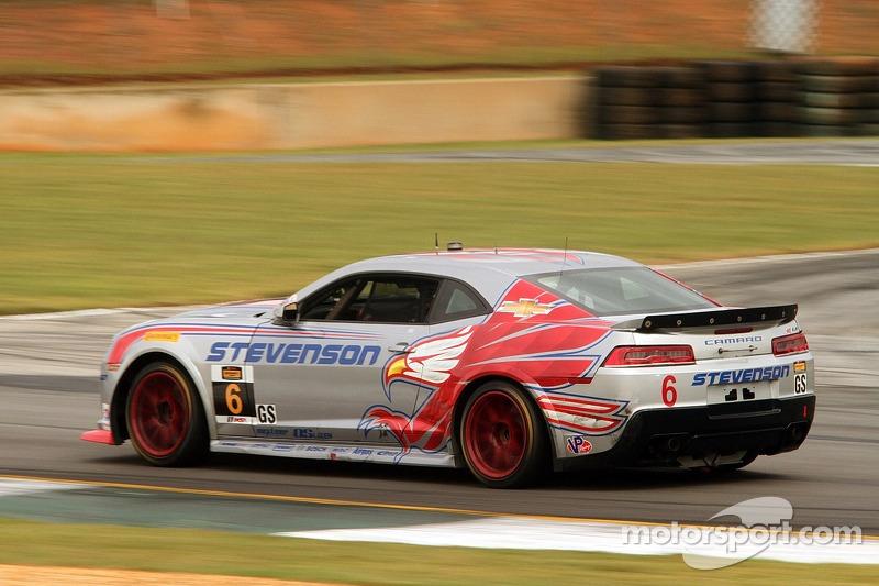 #6 Stevenson Motorsports 雪佛兰 科迈罗 Z/28.R: 罗宾·利德尔, 安德鲁·戴维斯