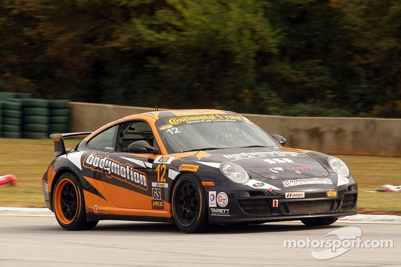 #12 Bodymotion Racing 保时捷 997: 肖恩·刘易斯, 迈克·巴瓦罗, 恩里克·西斯内罗斯