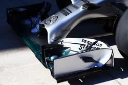 Frontflügel: Mercedes AMG F1 W05