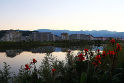 Sochi no nascer do sol