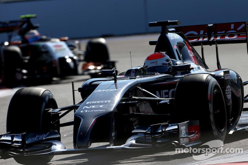 Adrian Sutil, Sauber F1 Team 10