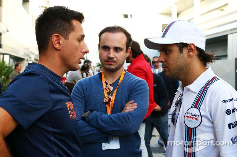 Felipe Massa, Williams ve kardeşi Dudu